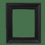 4030 Black Mirror Frame
