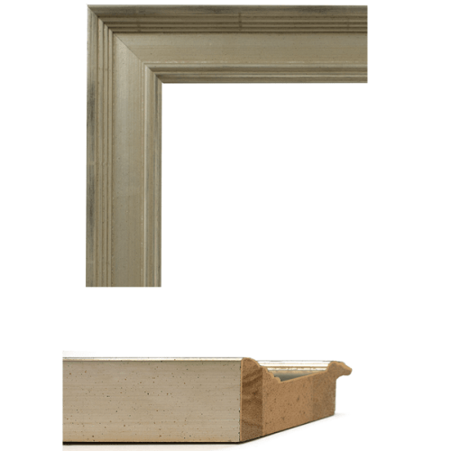 4045 Classic Silver Mirror Frame Sample