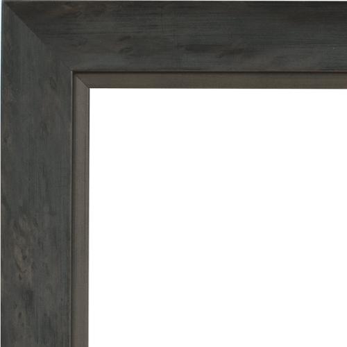 4059 Grey Silver Mirror Frame