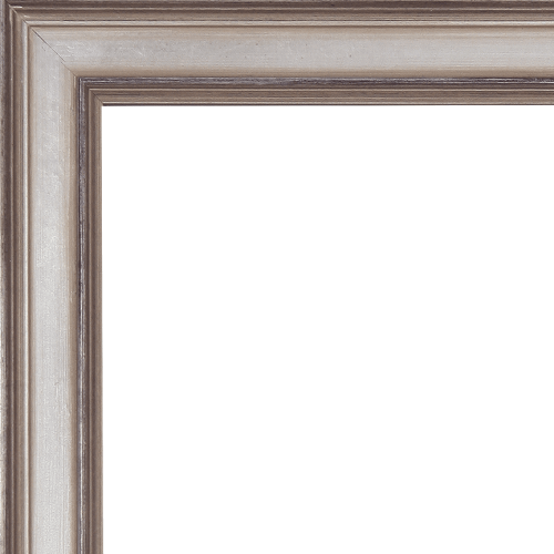2376 Antiqued Champagne Mirror Frame