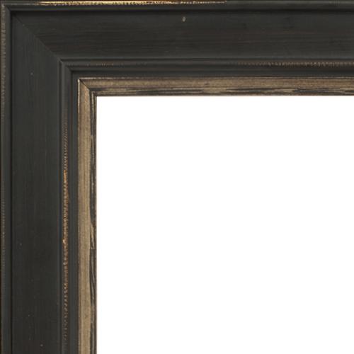 4024 Brown Flat Champagne Mirror Frame