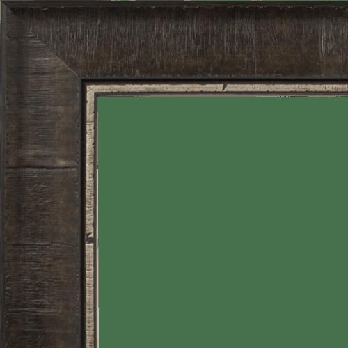 4032 Pewter Burl Mirror Frame