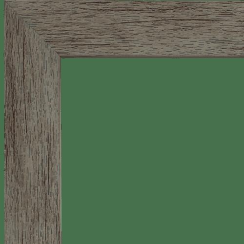 4033 Grey Mirror Frame