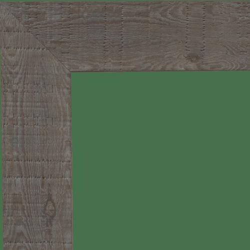 4065 Light Grey Oakwood Mirror Frame