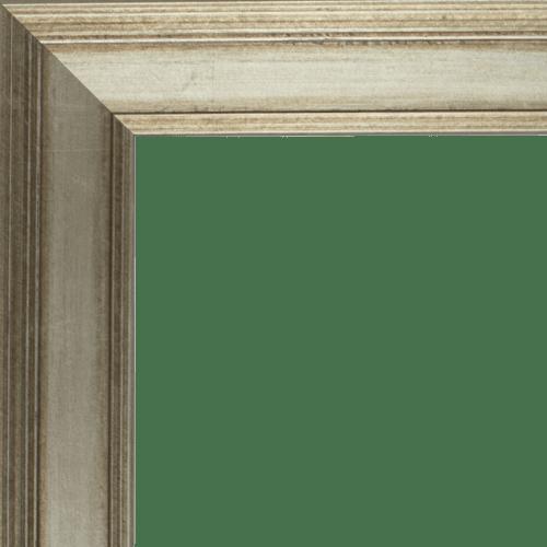 4107 Antique Silver Mirror Frame