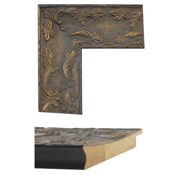 antique brown mirror frame samples