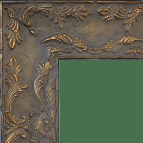 Renaissance Antique Brown Mirror Frame