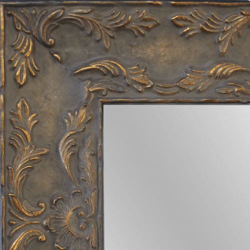 4149 Renaissance Antique Brown Framed Mirror