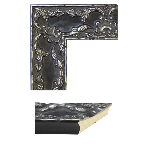 Renaissance Antique Pewter Mirror Frame Samples