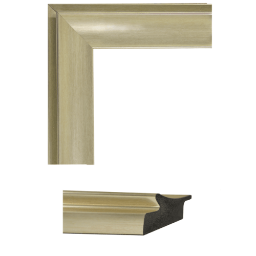 4165 Tempo Golden Scoop Mirror Frame Sample