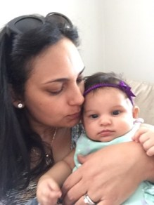 Baby mommy love