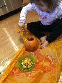 toddler pumpkin