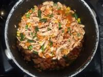 chicken veggies tomato sauce