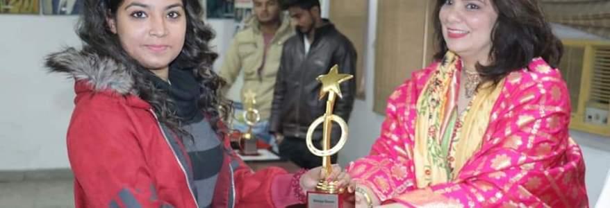 उत्तराखंड का नाम रौशन कर रही हैं श्रेया, दिल्ली में मिला बड़ा पुरस्कार