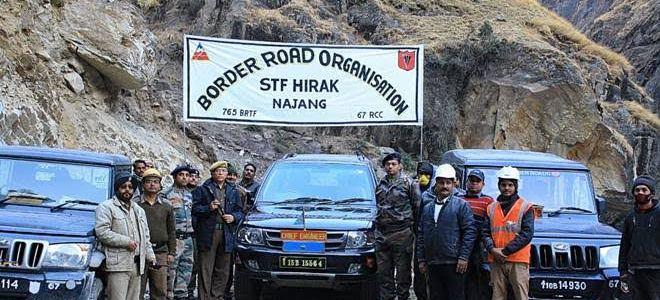 उत्तराखंड – बीआरओ ने कर दिखाया असंभव को संभव, खुद रक्षा मंत्री ने की तारीफ कहा अब चीन दूर नहीं