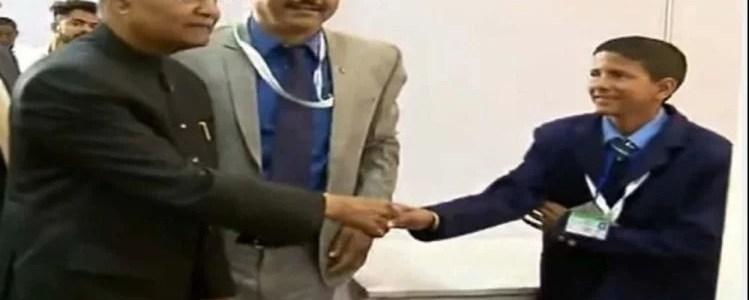 पहाड़ के इस बालक के अविष्कार को राष्ट्रपति ने किया सम्मानित, आठवीं कक्षा का छात्र है नीरज
