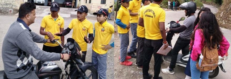 उत्तराखंड : पुलिस से ज्यादा इन बच्चों से डरे वाहन चालक, थोड़ी सी गलती पर भी करते हैं चालान