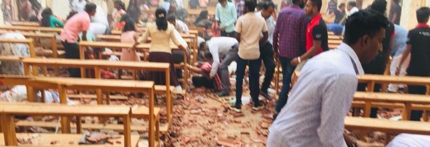 श्रीलंका में आतंकी हमला, 190 लोगों की मौत, 400 से अधिक घायल, मरने वालों में भारतीय भी