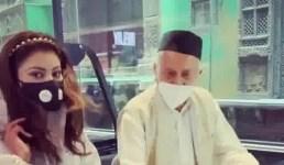 Video जब उर्वशी रौतेला और राज्यपाल भगत दा निकले गोवा यात्रा पर, उर्वशी बोली अंकल के साथ जा रही हूं