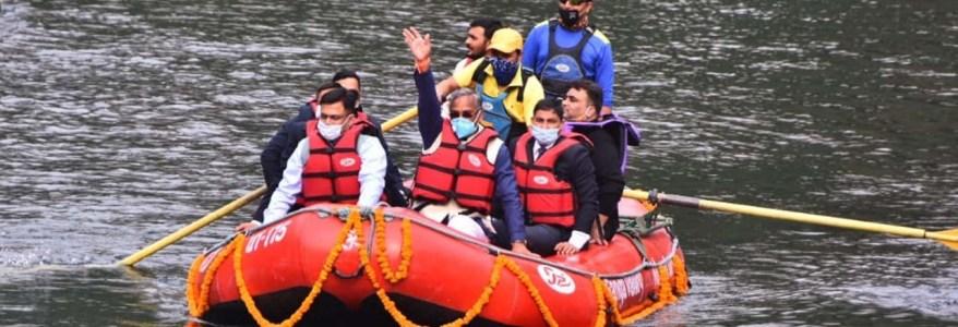 मुुख्यमंत्री त्रिवेन्द्र ने किया सूर्यधार जलाशय का लोकार्पण, करीब 50 करोड़ की लागत से बनी है ये झील