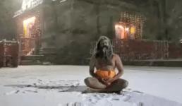 Video केदारनाथ में बाबा ने दिखाया चमत्कार, सोशल मीडिया में वीडियो हुआ वायरल, लोग बोले योग की शक्ति है