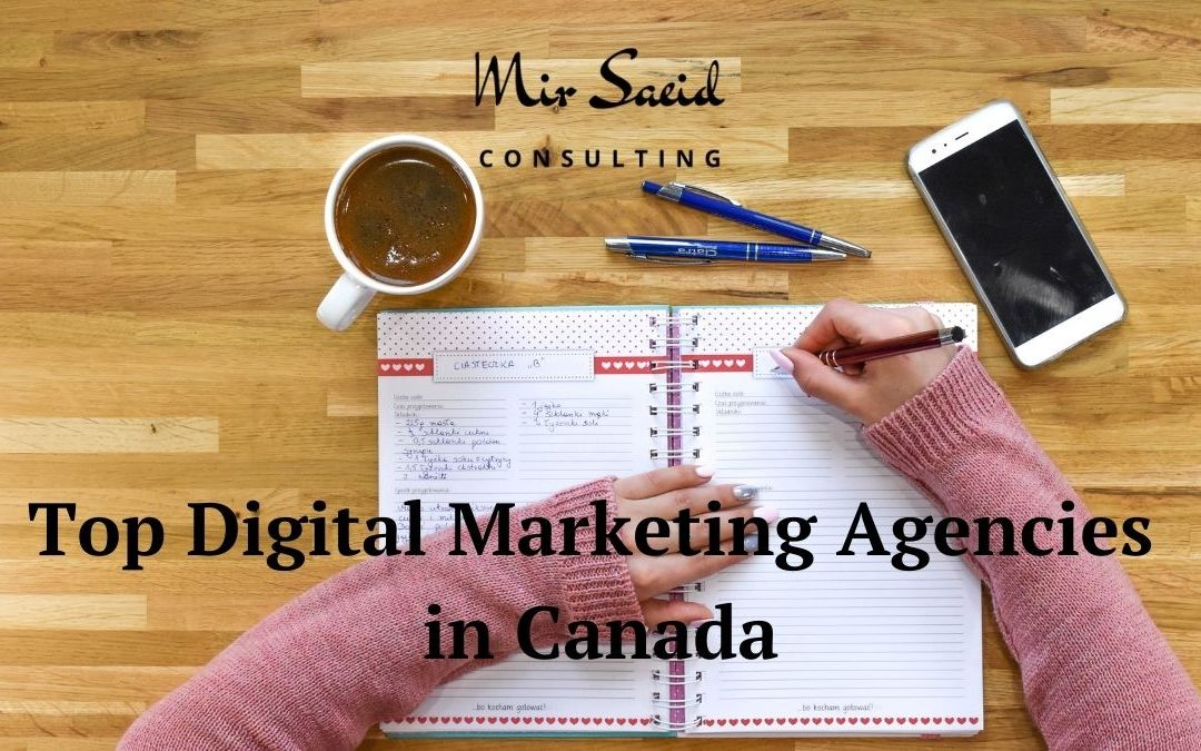 Top 10 Digital Marketing Agencies in Canada