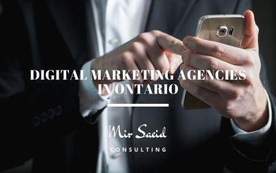 Top 10 Digital Marketing Agencies in Ontario