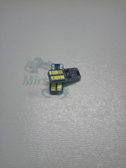 Лампа габаритная T10 24SMD Canbus