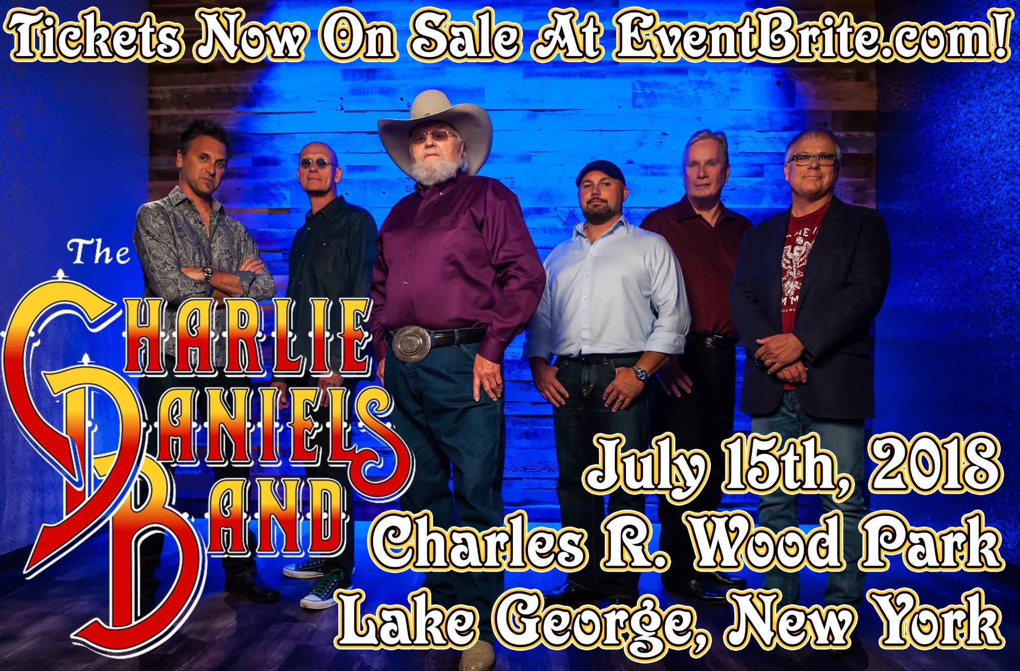 Charlie Daniels Band To Play Lake George, New York