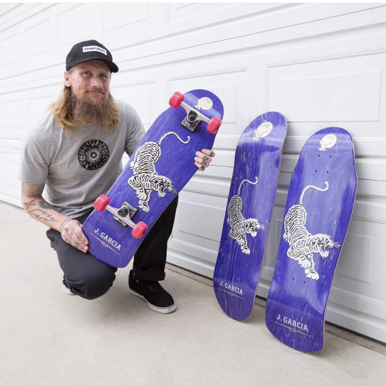 Jerry Garcia Inspired Skateboard Released By Street Plant