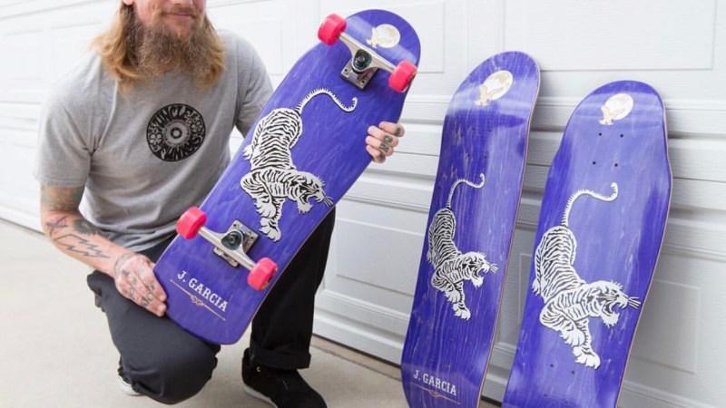 Jerry Garcia Inspired Skateboard Released By Street Plant