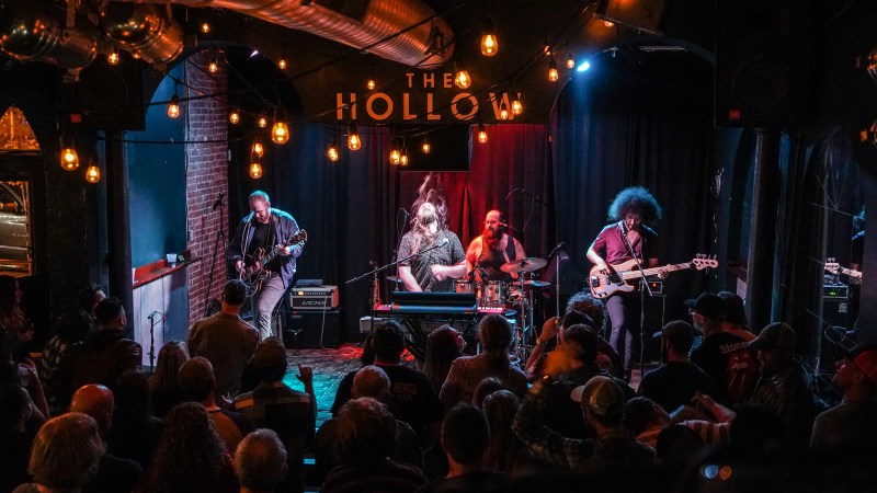 Watch Wild Adriatic's Full Show From The Hollow, November 7th In Albany, NY