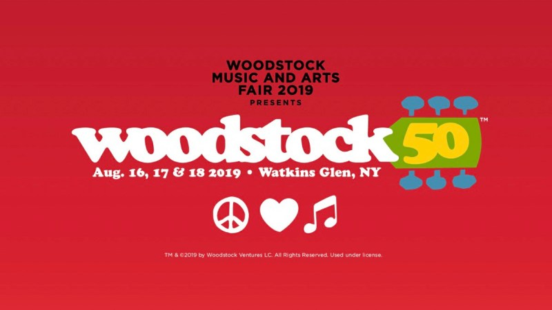 Woodstock 50 Shares Official Lineup