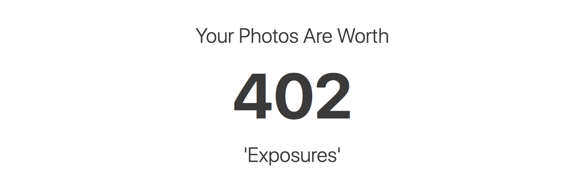 "The ""Exposure Calculator"""