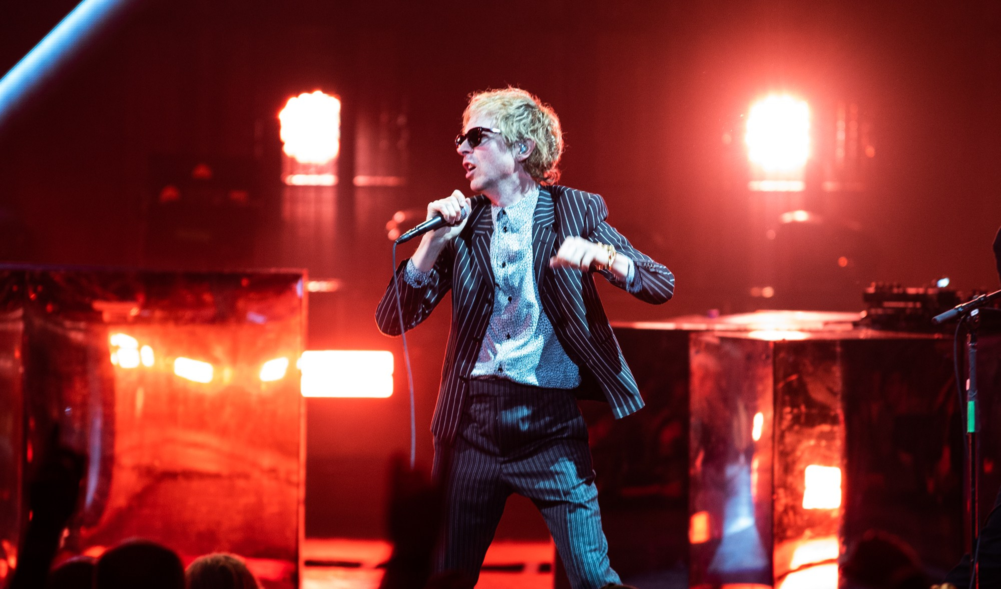 Beck and Cage The Elephant Bring High Energy Monday Night Performance To Saratoga Springs, NY