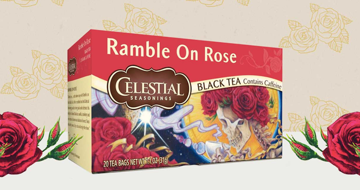 Celestial Seasonings Release Grateful Dead Inspired Tea Flavor