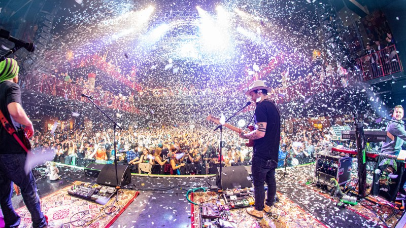 Twiddle Celebrates New Years Eve at the House of Blues in Boston, MA