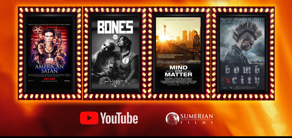 Sumerian Films Announces Free Weekend-Long YouTube Film Series