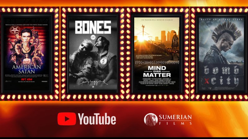 Sumerian Films Announces Free Weekend-Long YouTube Film Series