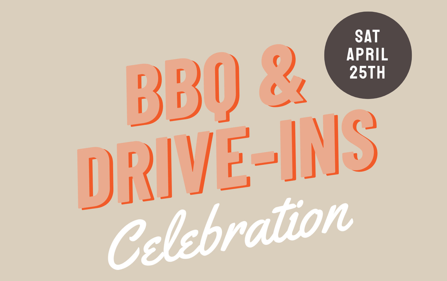 Join Us Live On Facebook April 25th for Nanola's BBQ & Drive-In's Celebration