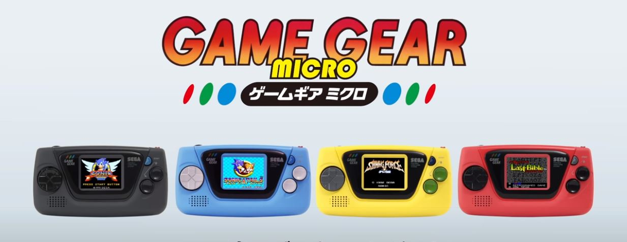 Sega Releases Game Gear Micro in Honor of the Company's 60th Anniversary