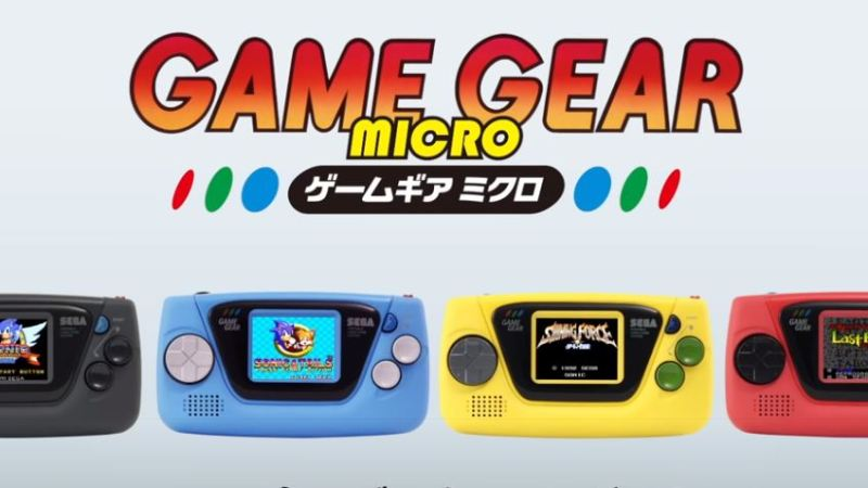 Sega Releases Game Gear Micro in Honor of the Company's 60th Anniversary