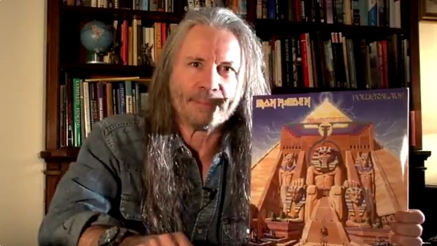 Bruce Dickinson Of Iron Maiden Plans To Host 'Powerslave' Listening Party