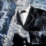 musicPaolo_Steffan,_Portrait_of_John_Coltrane_-_2007