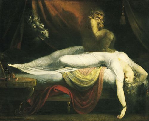 Haiku: Just A Dream...  The Nightmare by John Henry Fuseli