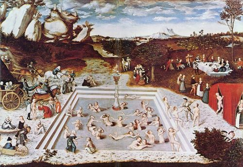 Haiku: Forever Young... The Fountain of Youth by Lucas Cranach