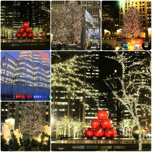 Weekly Photo Challenge: A NYC Winter showcase of lights.