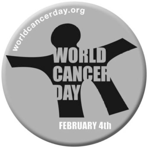 World Cancer Day 2014 Button