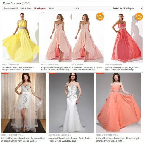 Prom Dresses: Fashionable Styles And Tips