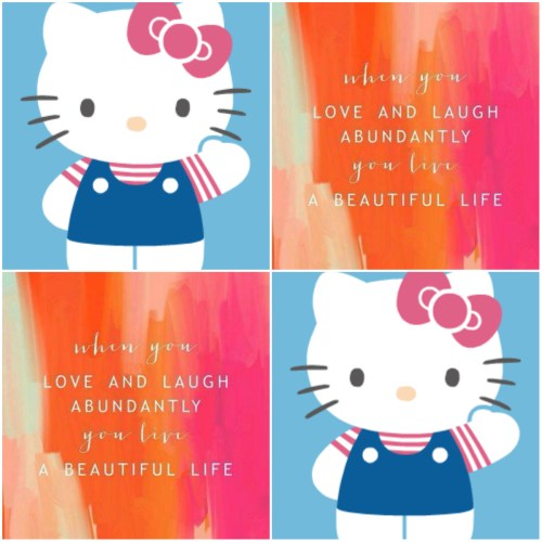 Hello Kitty Collage